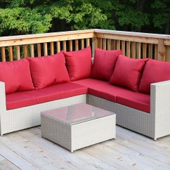 Quality Sofas For Less Kivik Sofa And Chaise Lounge Review Large 4 Pc Modern Beige Rattan Wiker Sectional Set