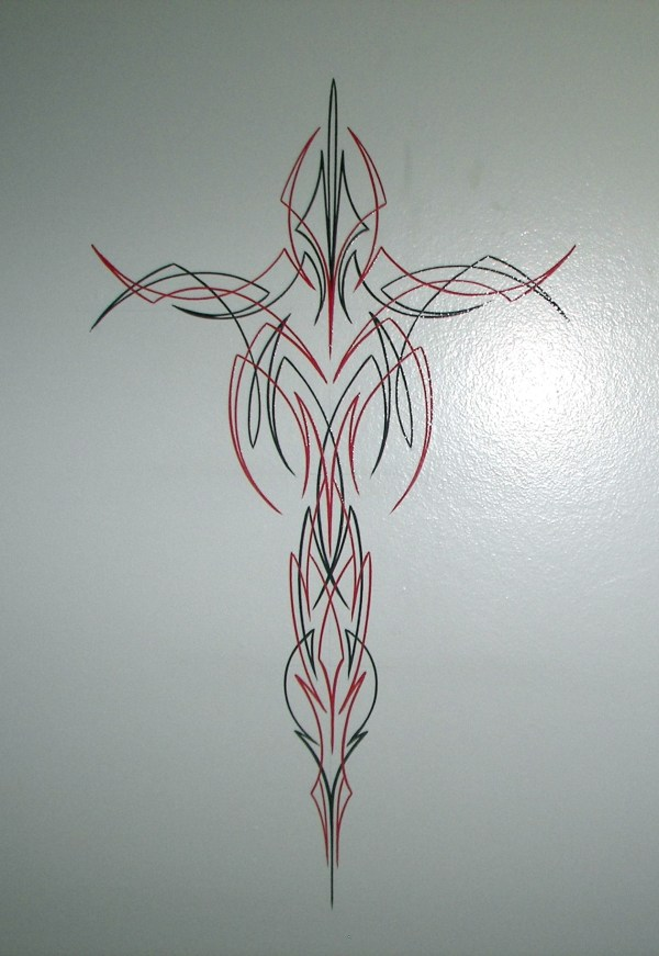 Old School Pinstriping Designs