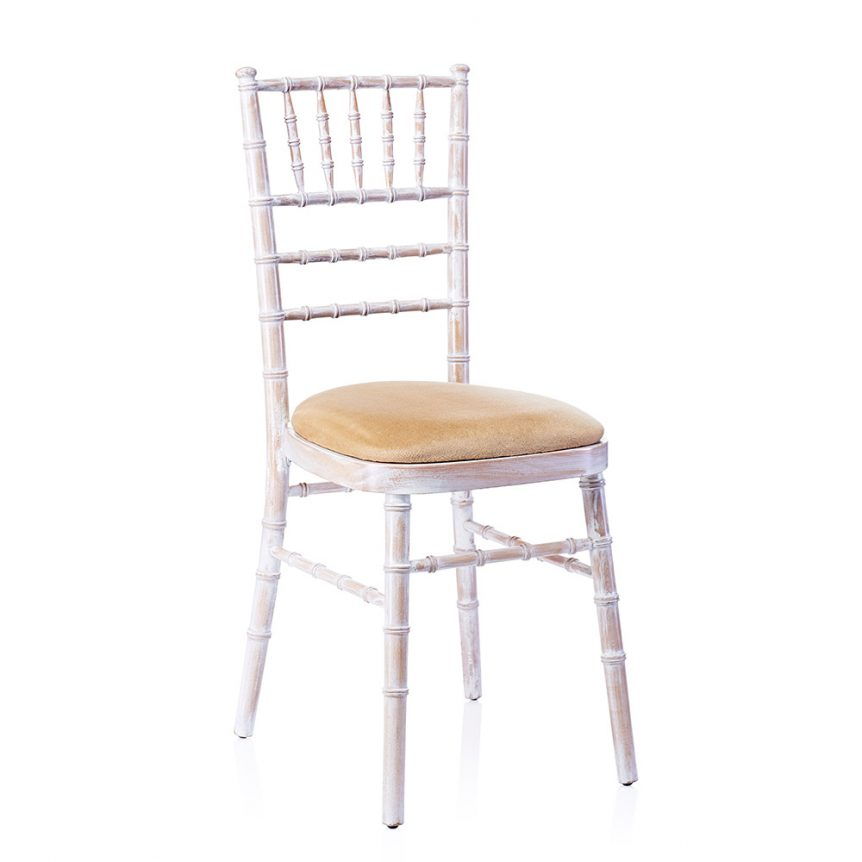 limewash chiavari chairs hire pedicure package deals wedding chair dorset devon somerset furniture a with an ivory seat pad