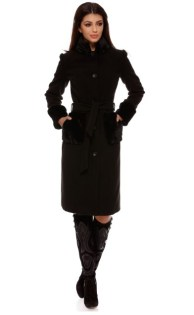 paltoane elegante ieftine negre