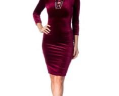 Modele rochii de catifea scurte sau lungi online