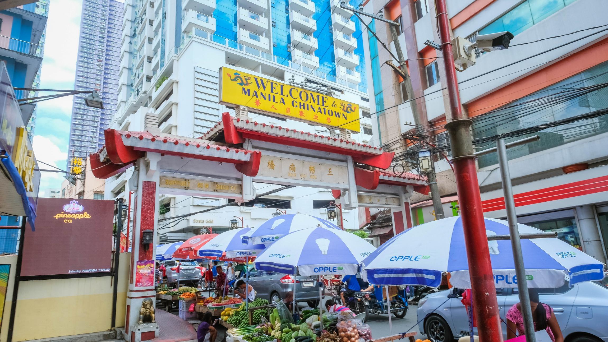manila chinatown binondo ongpin street