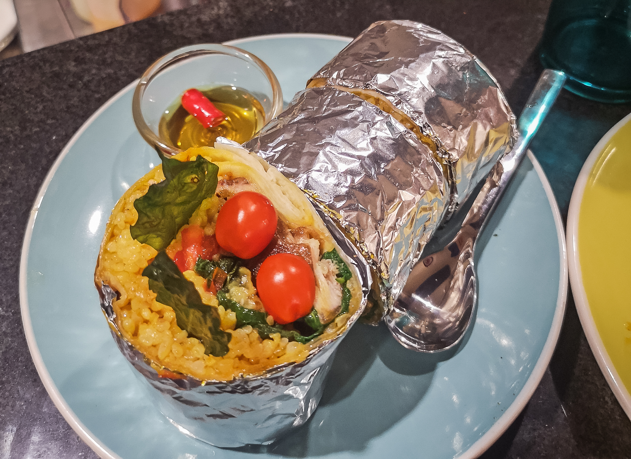 Sinigang Burrito by TADEO Filipino Mexican Comfort Food