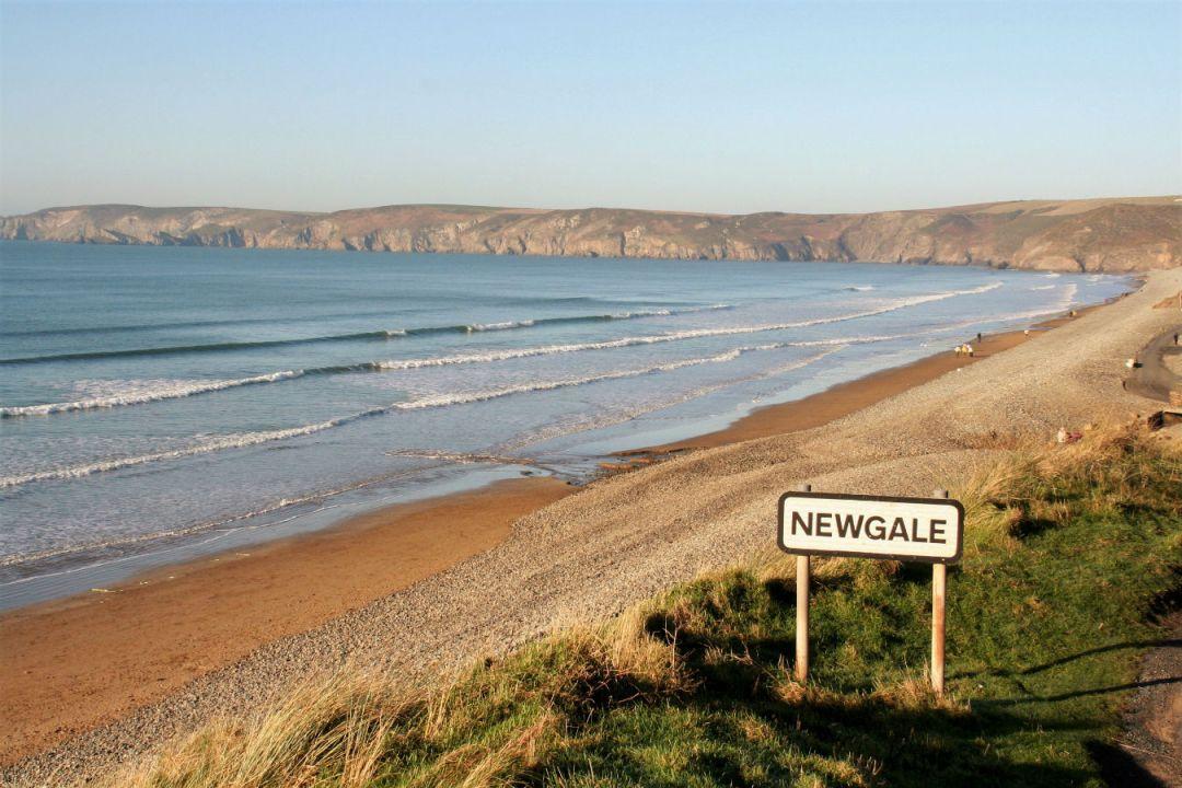 Newgale beach near Roch Mill, Pembrokeshire