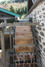 Waterwheel turning again after 60+ years