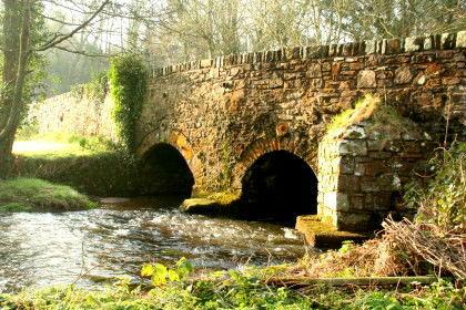 Bridge at Granary at Roch Mill