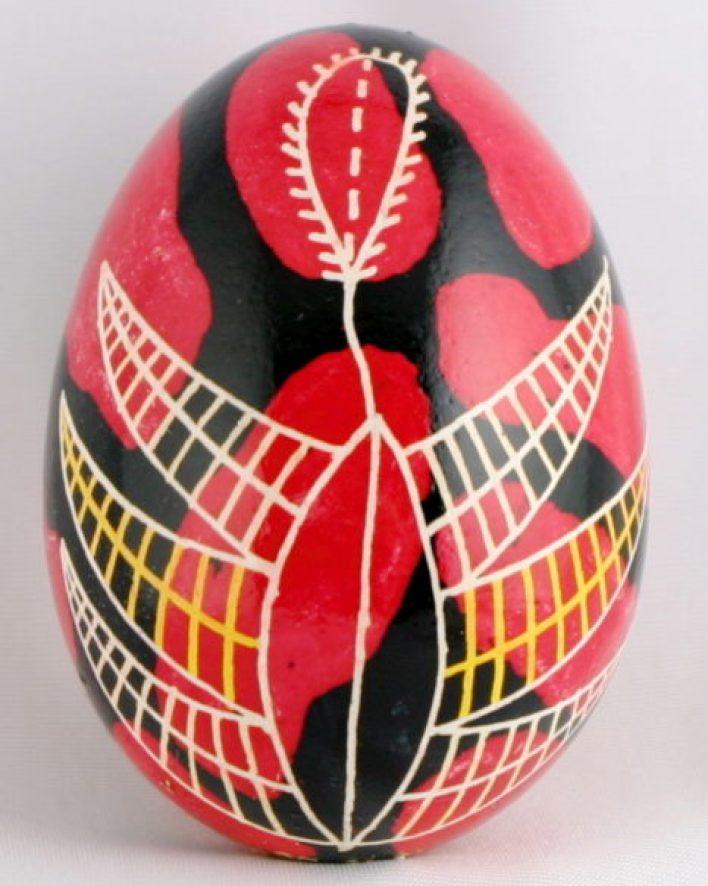 Huevos Pysanky, huevos de Pascua de Ucrania Dryapanka