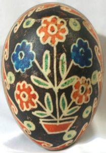 Huevos pysanky ucranianos motivos árbol de la vida
