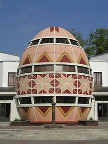 Huevos Pysanky, huevos de Pascua de Ucrania museo