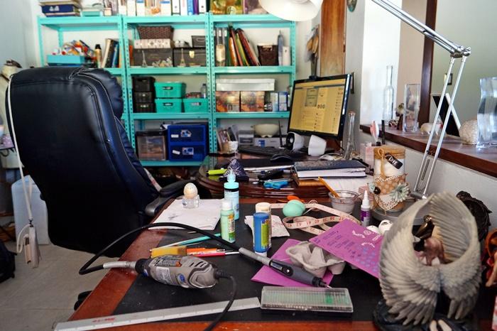 mi estudio, mi espacio para crear