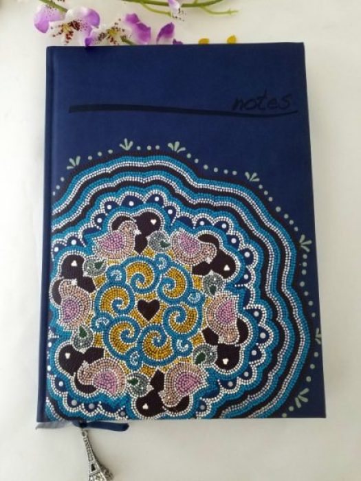Bullet Journal decorado con mandala