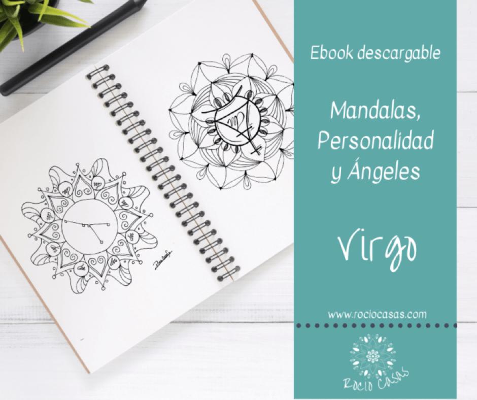 Mandalas Personalidad y Ángeles VIRGO