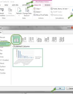Pareto also how to make  chart using excel pivot tables rocio munoz rh rociomunoz wordpress