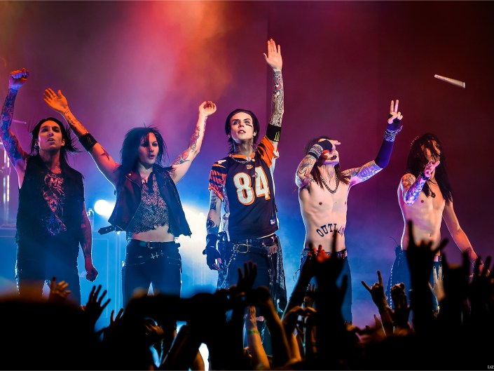 Black Veil Brides Kick Off Black Mass Tour