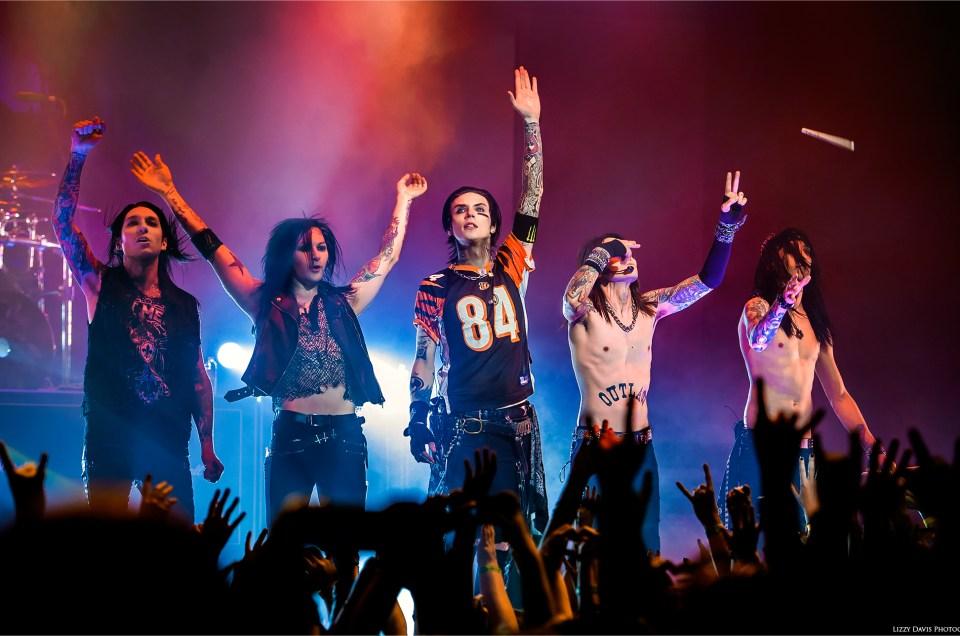 Black Veil Brides Kick Off Black Mass Tour in VA