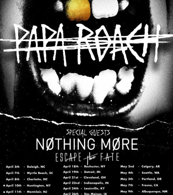 Papa Roach Announces 2018 Headline Tour with Nothing More
