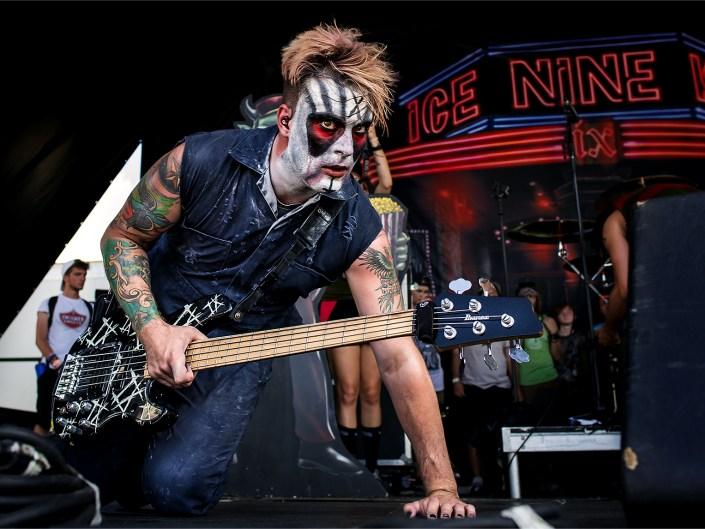 Ice Nine Kills on Vans Warped Tour 2018