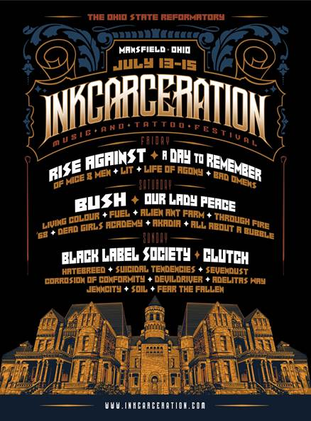 First Annual Inkcarceration Festival to be held at Ohio State Reformatory