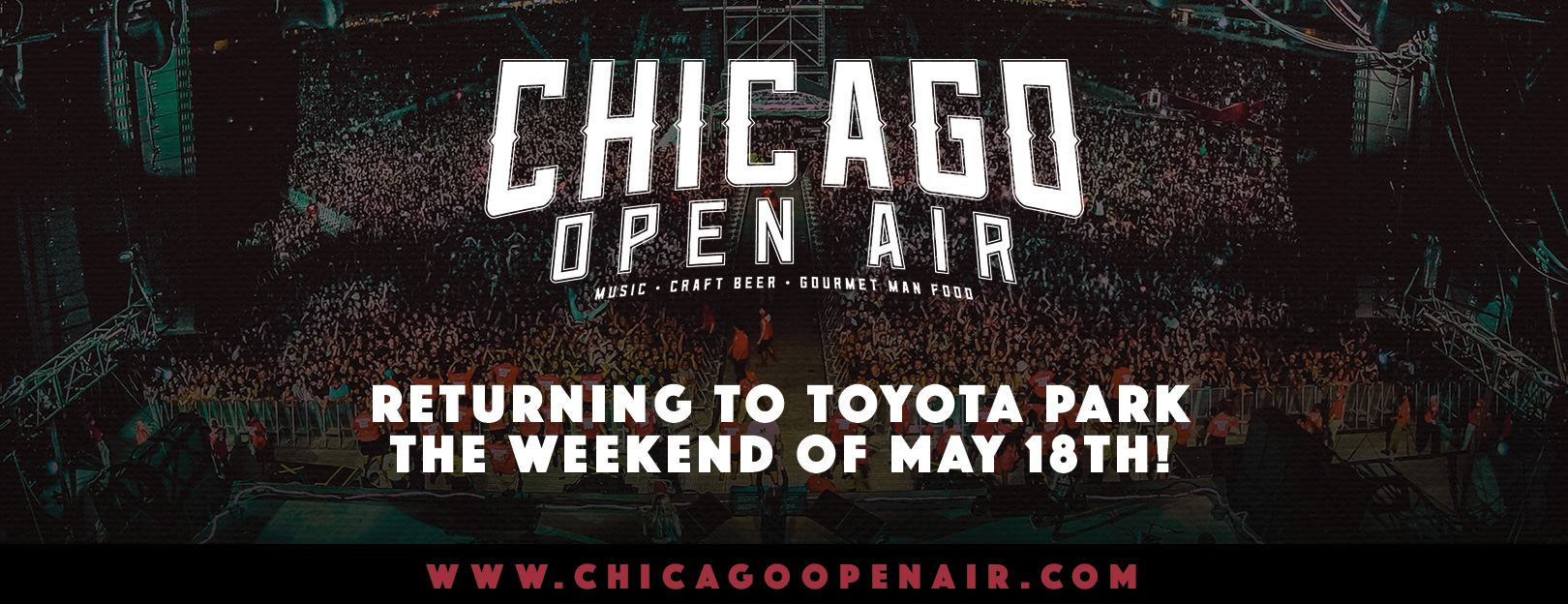 chicago open air festival to return in 2019 rock front center
