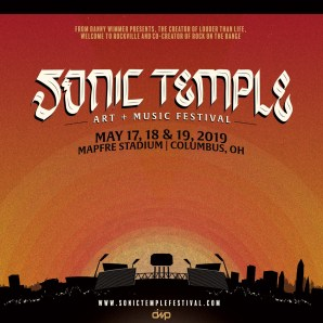 All new Sonic Temple Art + Music Festival to debut in Spring 2019.