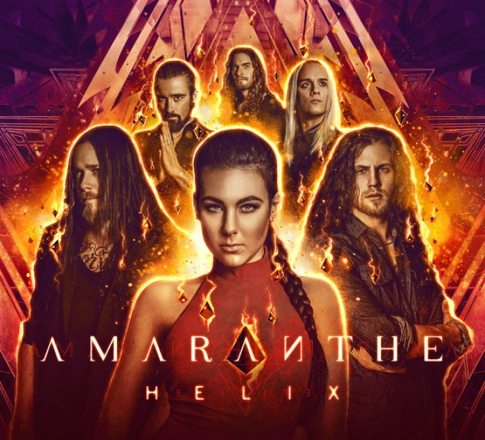 Amaranthe album cover for 'Helix'.