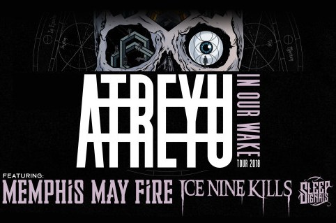Atreyu to launch 'In Our Wake' tour in November