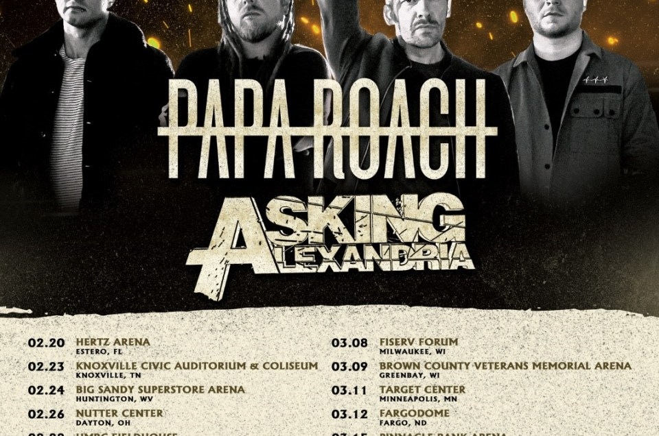 Shinedown announces 2019 Attention Attention world tour with Papa Roach