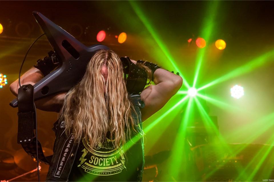 Zakk Wylde of Black Label Society headlining The Fillmore in Charlotte, NC.