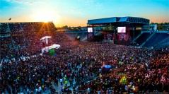 Sold out crowd during Five Finger Death Punch at Rock on the Range 2014.
