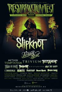 The initial lineup for Spain's Resurrection Fest 2019 has been announced.