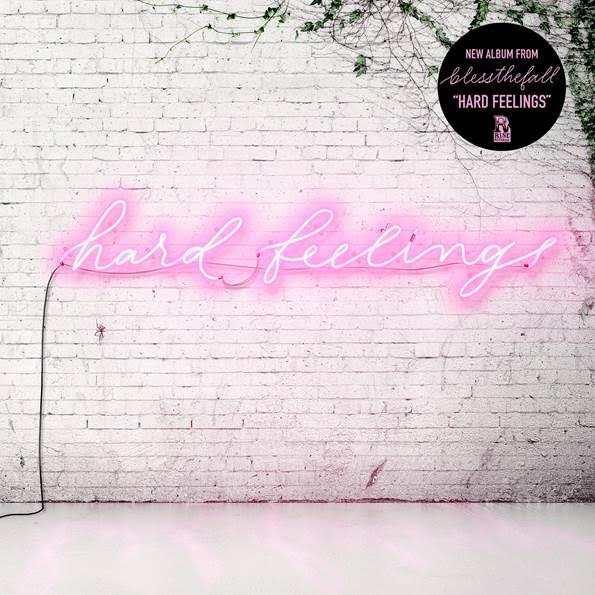 Blessthefall sign to Rise Records + announce new album 'Hard Feelings'