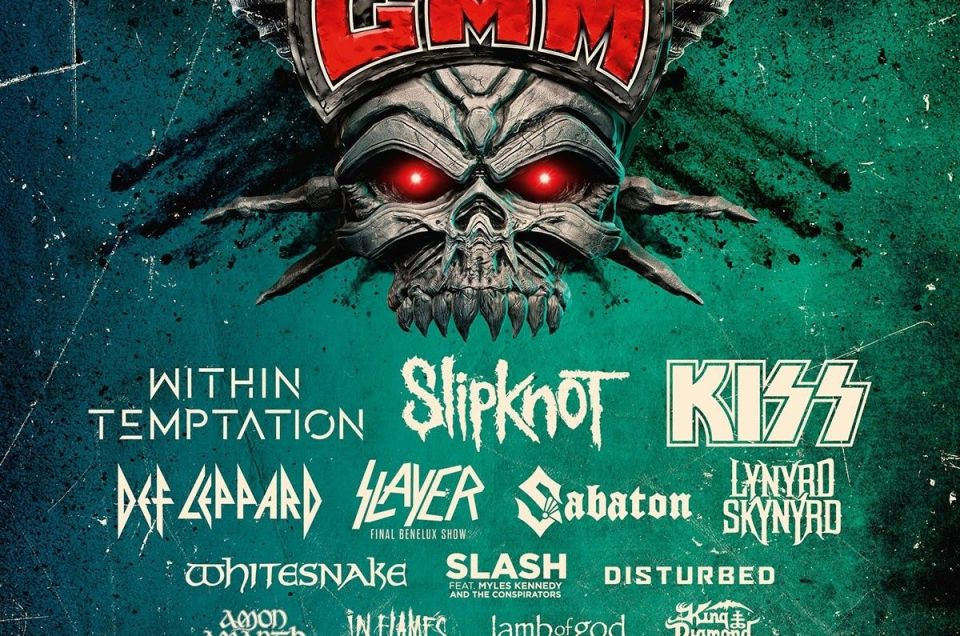 Graspop Metal Meeting 2019 lineup announced.