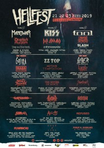 The lineup for Hellfest Open Air 2019 has been announced!