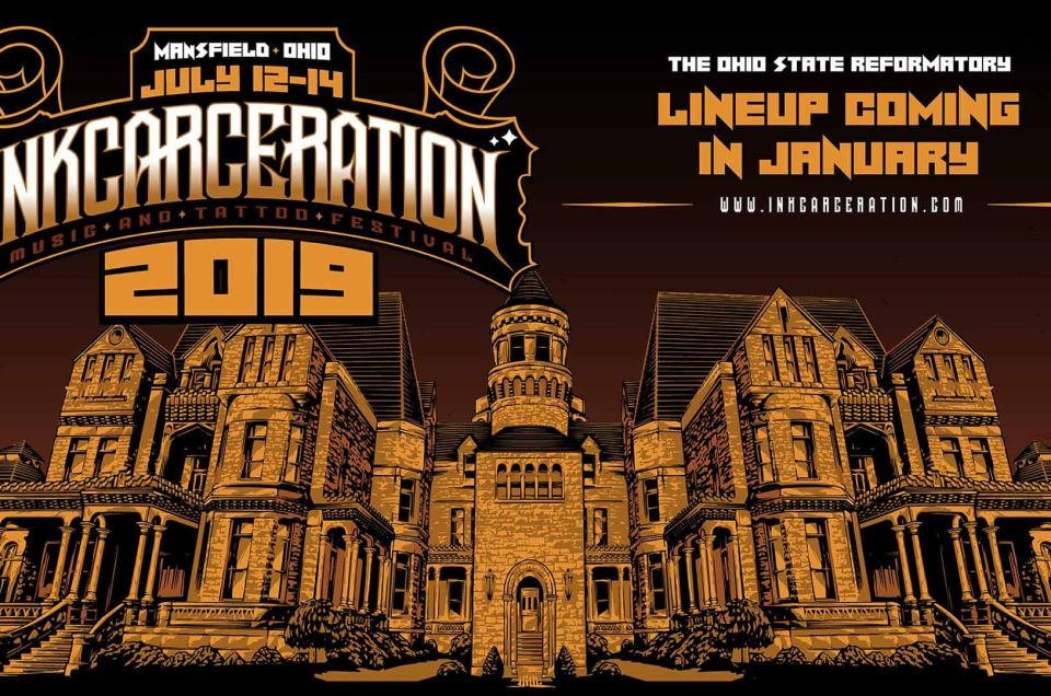 Inkcarceration Festival will return to the Ohio State Reformatory for a second year in 2019.