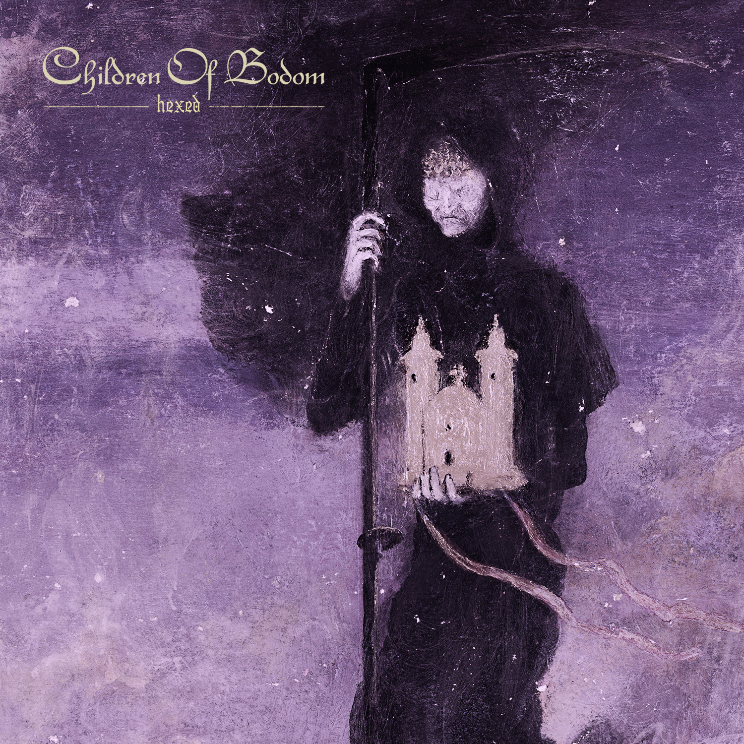Artwork for Children of Bodom's upcoming new album 'Hexed'.
