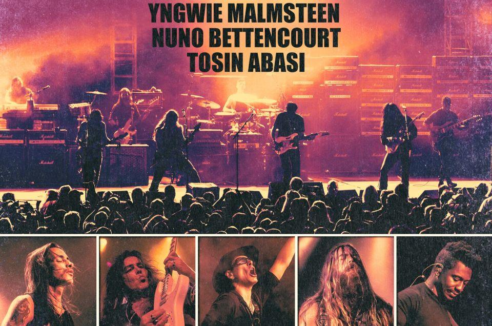 Generation Axe Tour 2018 featuring Steve Vai, Zakk Wylde, Yngwie Malmsteen, Nuno Bettencourt, Tosin Abasi.