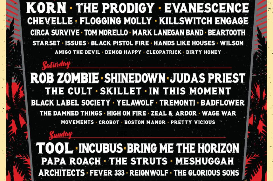 Welcome to Rockville 2019 lineup announced