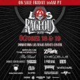 Las Rageous 2019 lineup announced featuring Bring Me The Horizon and Rob Zombie!