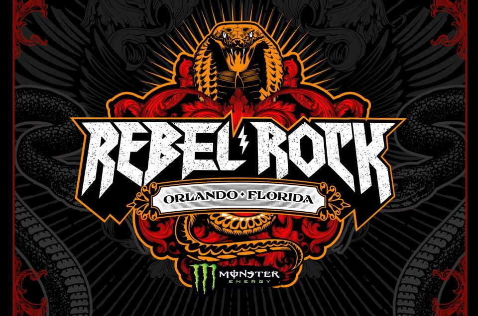 An all new music festival called Rebel Rock Fest is set to debut in Orlando, FL, next year.