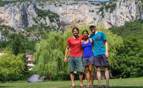 Slovenia – climbing in Osp