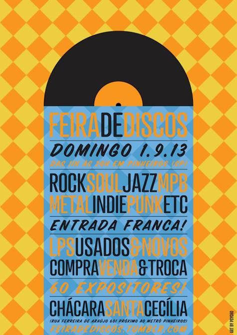 Feira de Discos - SP 01/09 - feira de discos em são paulo 01/09 – Feira de Discos em São Paulo Feira Discos 01 09