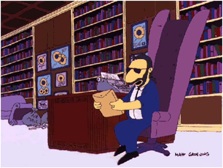 The-Simpsons-Ringo-Starr as principais aparições dos beatles nos simpsons As principais aparições dos Beatles nos Simpsons The Simpsons Ringo Starr