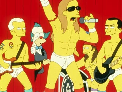 redhotchillipeppers.jpg  As Principais Participações de Bandas e Artistas nos Simpsons redhotchillipeppers