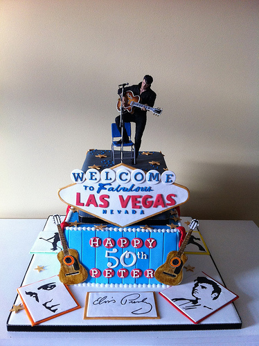 Elvis Wedding Cake Rockabelle Bombshell