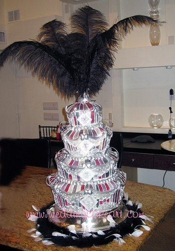 Burlesque Theme Wedding Cakes  Rockabelle Bombshell