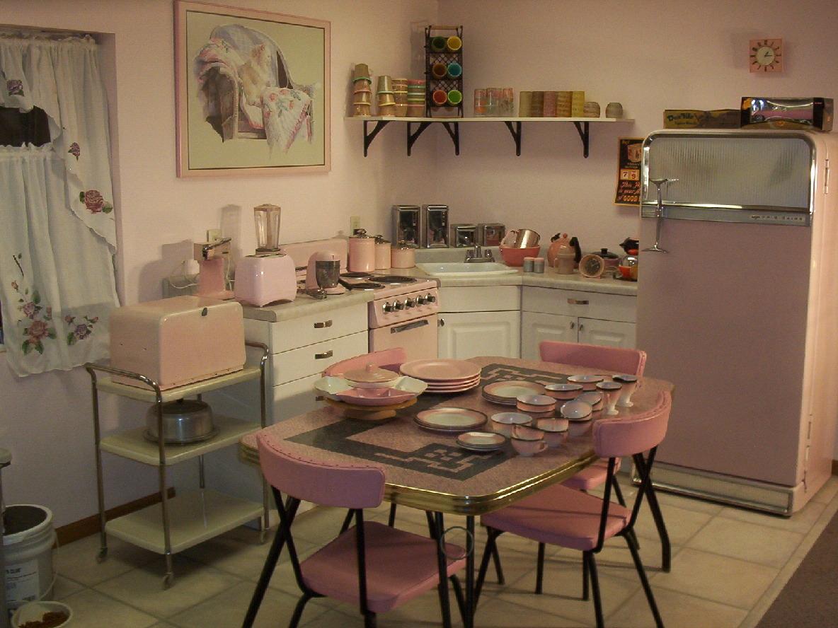 1950s retro kitchen