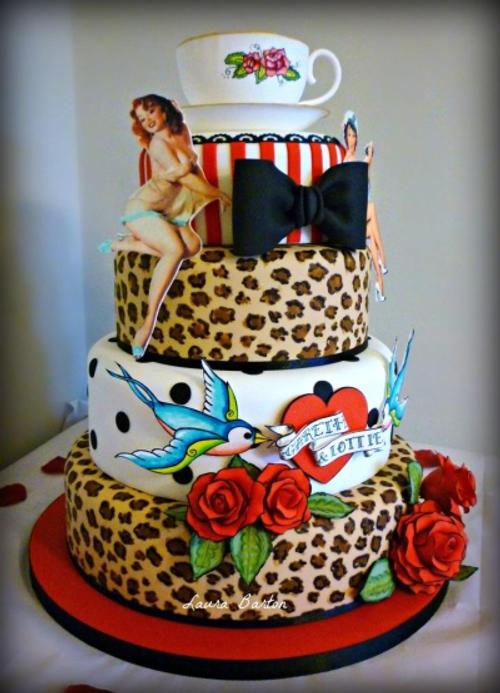 rockabilly cake  Rockabelle Bombshell