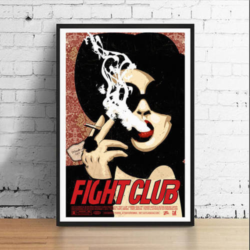 fight club marla singer mondo poster
