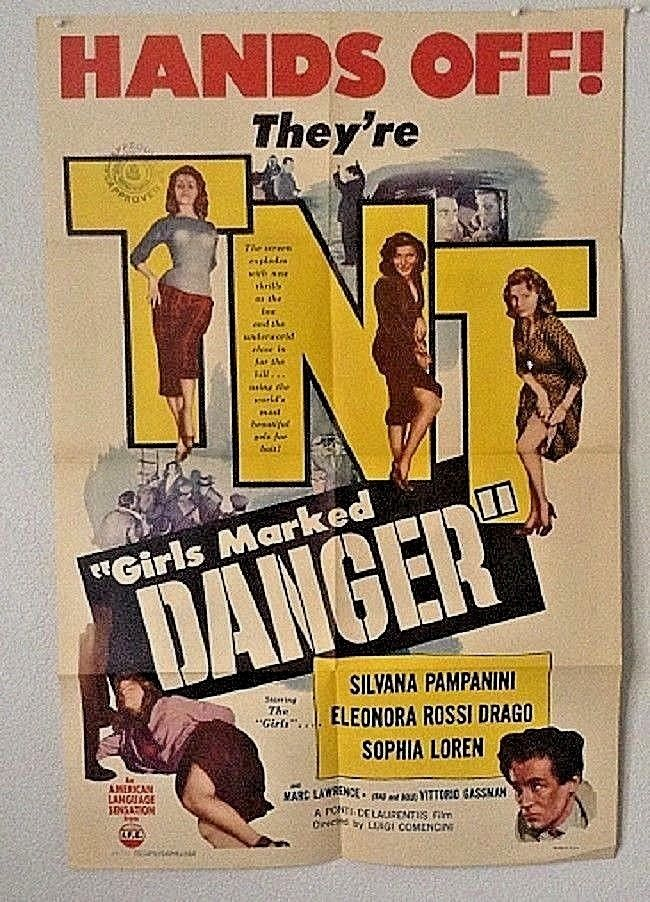 girls marked danger 1 sheet