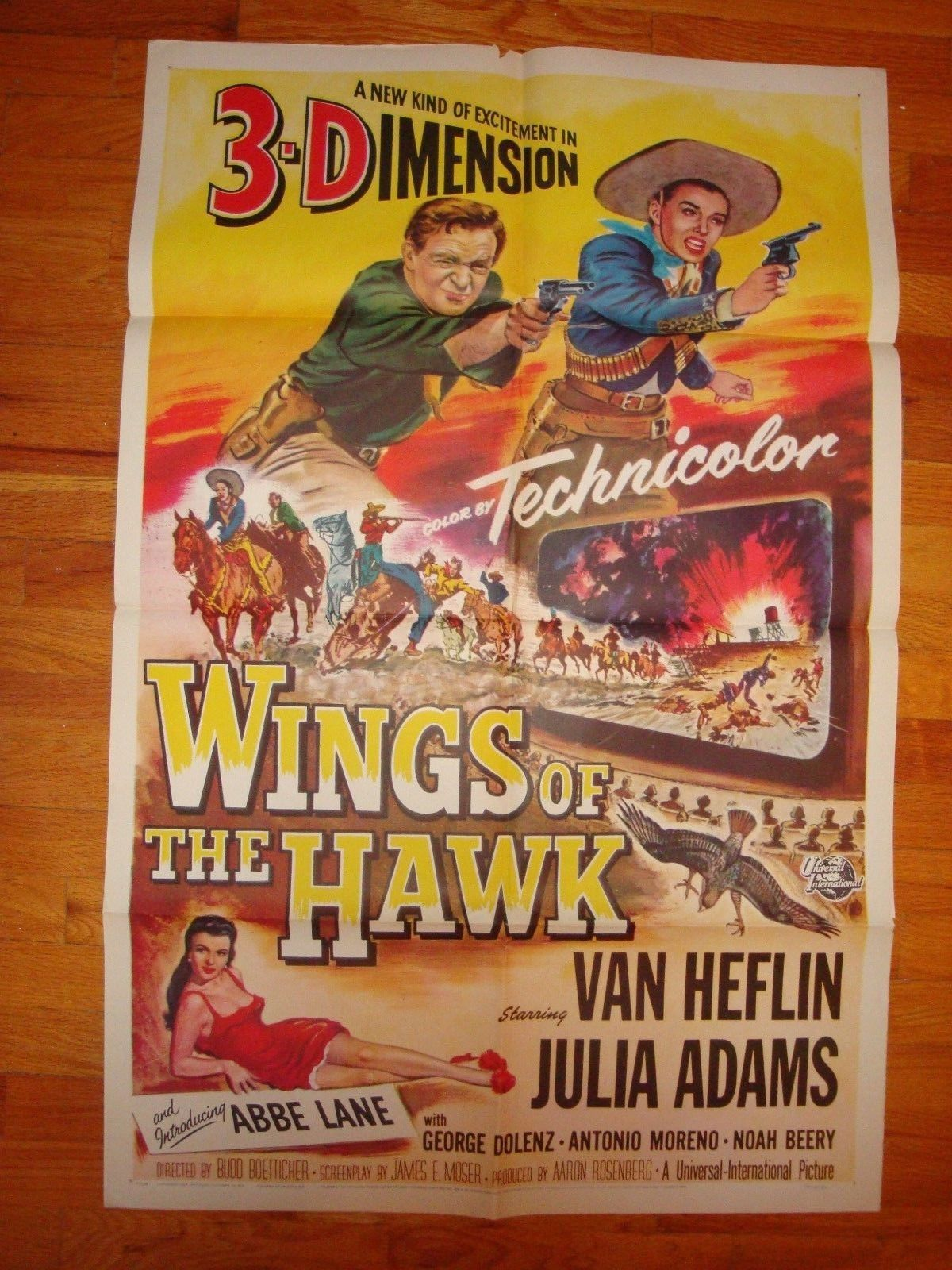 wings of the hawk 3D 1 sheet